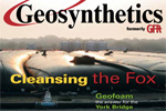 Geosynthetics Article on York Bridge Project